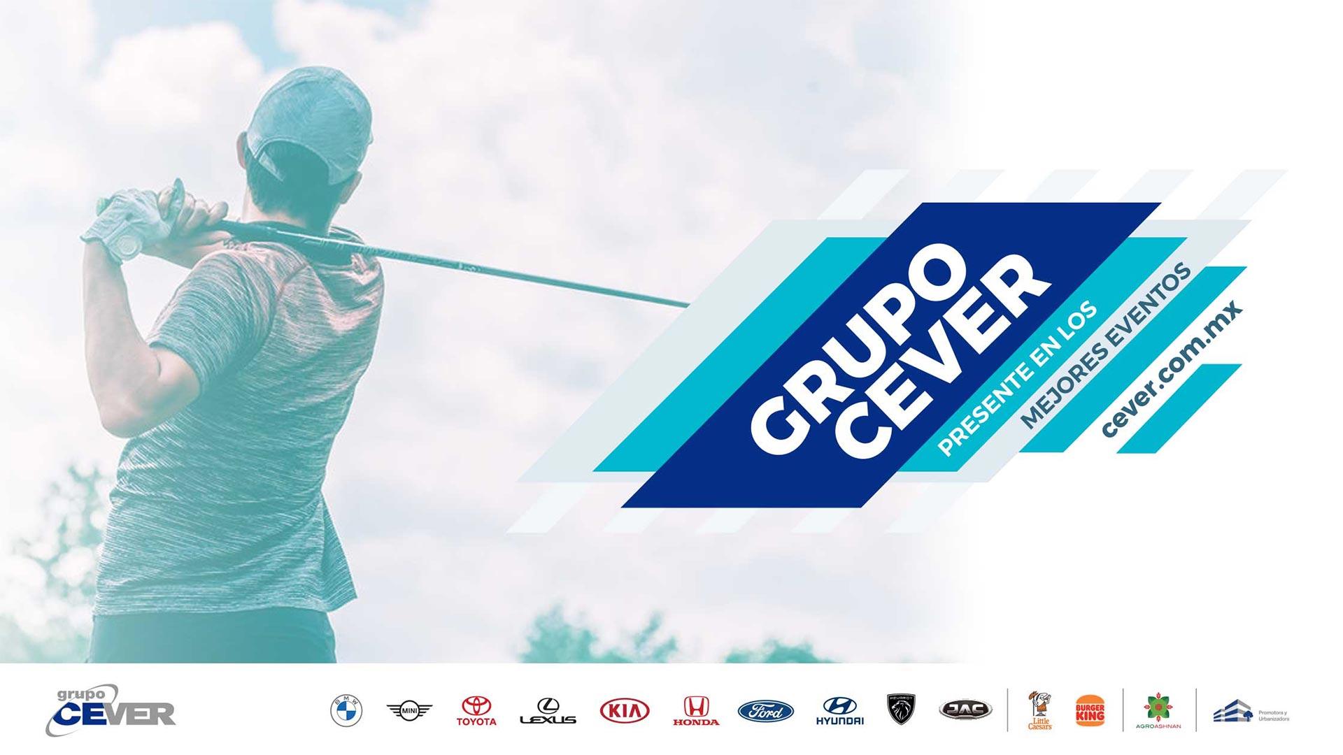 Grupo Cever Presente en el Torneo de Golf Club Chapultepec